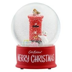 Gifts for a Dog Owner - Billie Dog Cath Kidston Snowglobe