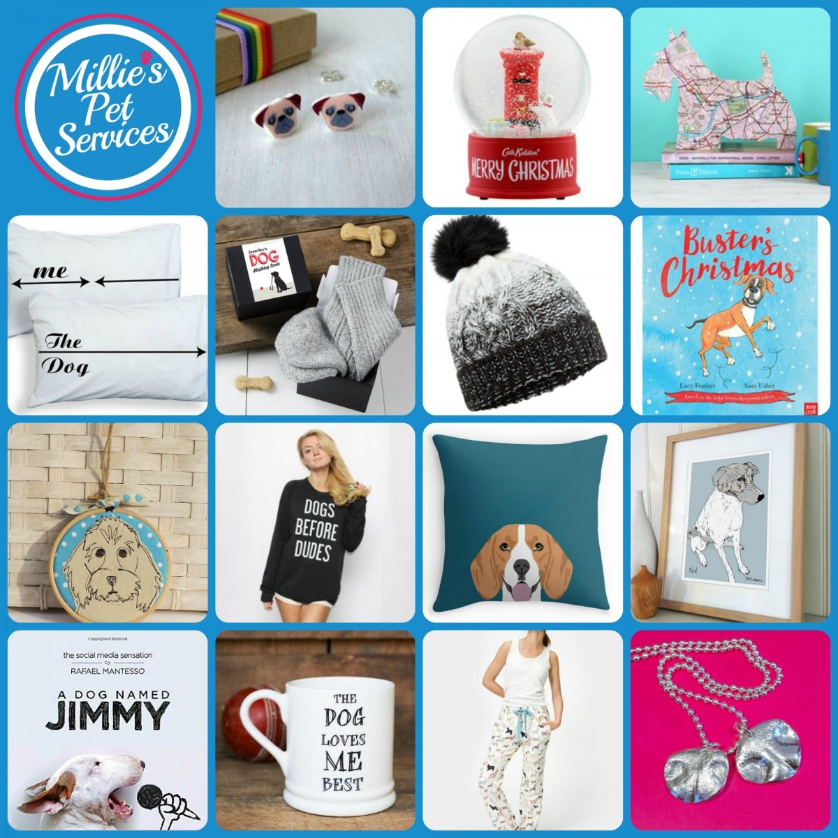 15 Gifts for Dog owners - collage