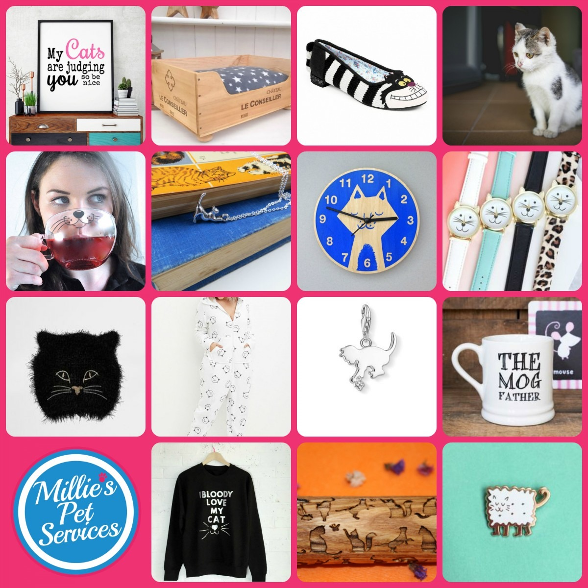 15 Gifts for a Cat owner christmas millies pet services
