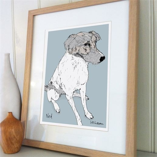 Gifts for a Dog Owner - Pet Illustration