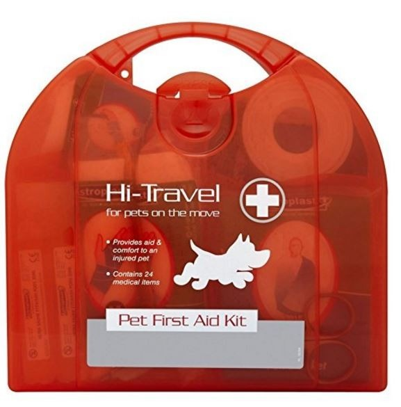 7 best dog travel accessories hi-travel first aid kit