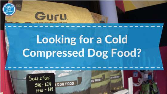 looking for a cold compressed dog food