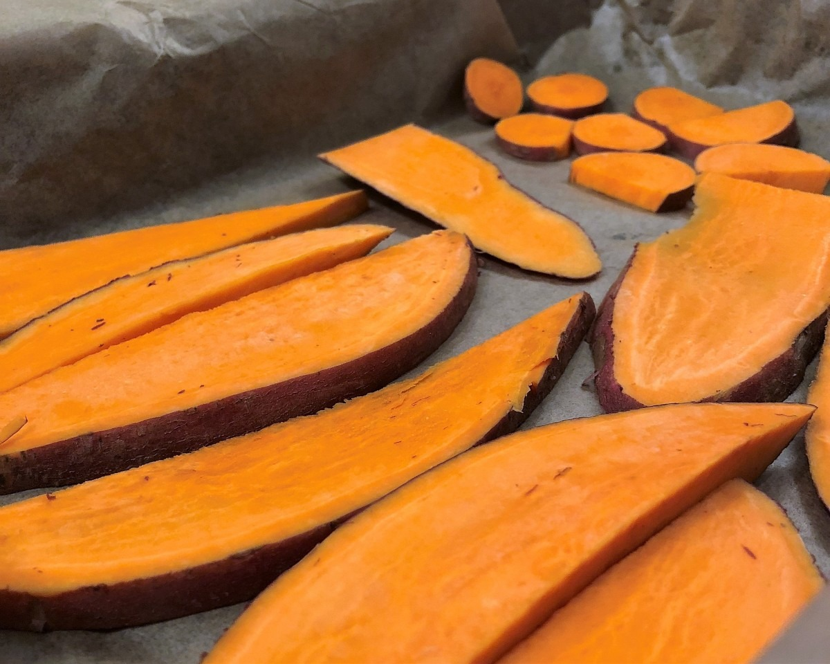 Sweet Potato Chews for Dogs Recipe