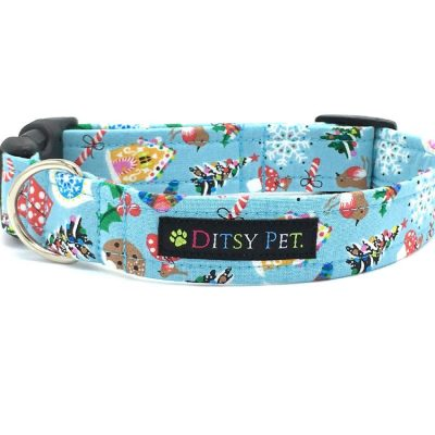 Noel-Christmas-Dog-Collar