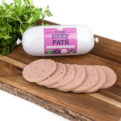 Pure-Beef-Paté-400g-Complete-food-for-Dogs-JR-Pet-Products