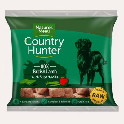 country-hunter-british-lamb-raw-dog-food