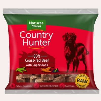 country-hunter-raw-nuggets-grass-fed-beef-raw-dog-food