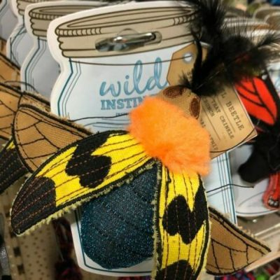 Wild Instincts Catnip Toy (Bumble Bee Cats Gift/Toy)