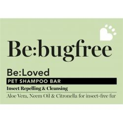 Bebug free dog shampoo-bar