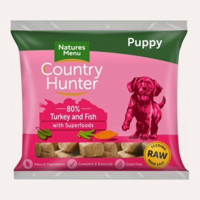 country-hunter-raw-nuggets-puppy-turkey-fish