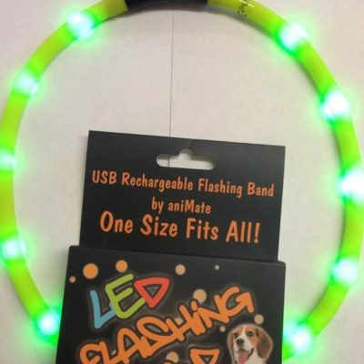 Animate: Rechargeable LED Flashing Band (Adjustable Size)