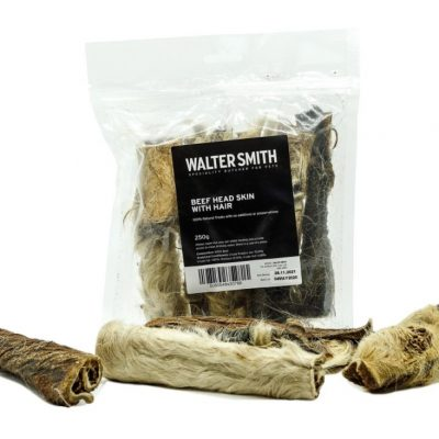 Walter Smith: Beef Head Skin With Hair (250g)