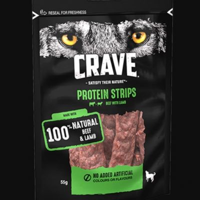 Crave: Protein Strips (Lamb with Beef)
