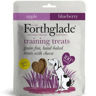 Forthglade: Grain Free Hand Baked Treats with Cheese, Apple and Blueberry
