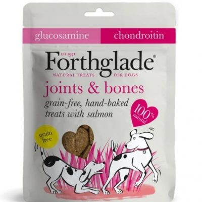 Forthglade: Grain Free Hand Baked Treats with Salmon, Glucosamine and Chondroitin