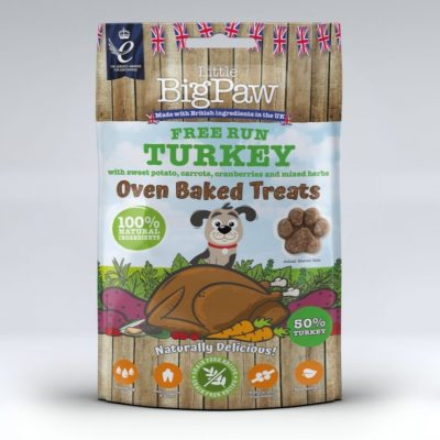 Little Big Paw: Free Run Oven Baked Turkey Treats