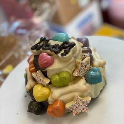 Bonbon Pooch: Two Tier Woof-day Cake