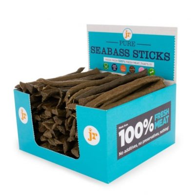 JR Pet Products: Pure Seabass Sticks (Pack of 4)