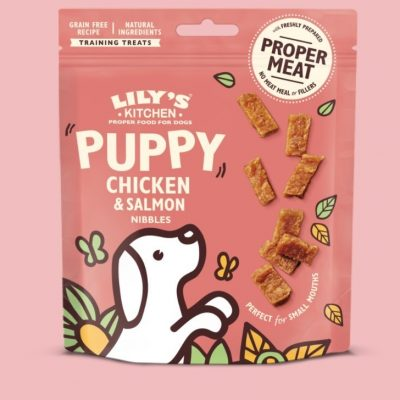 Lily's Kitchen: Puppy Nibbles (Chicken & Salmon)