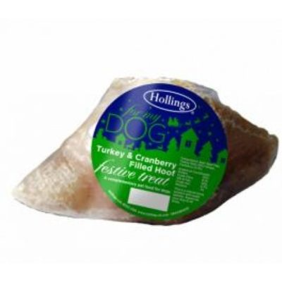 Hollings: Turkey & Cranberry Filled Hooves (190g)