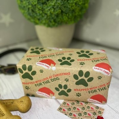for-=the-dog-christmas-gift-wrapping-paper