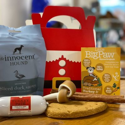 A Christmas Day Out:  Dog Lunch Box